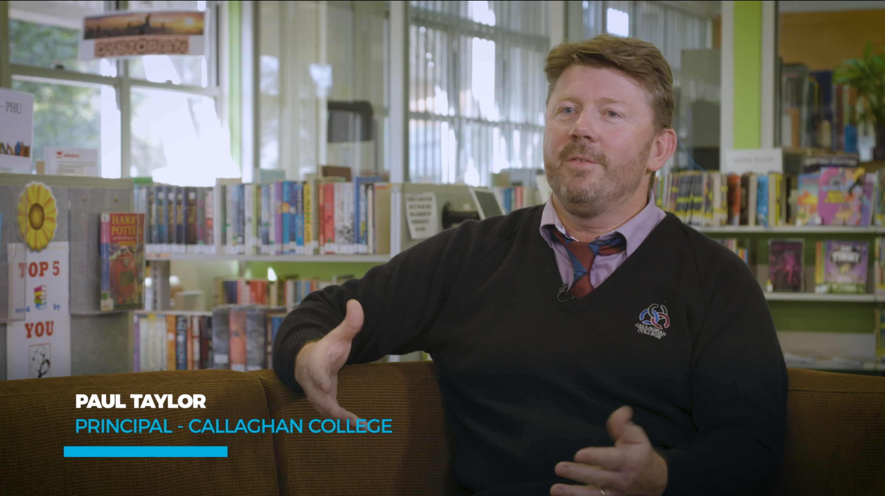 Paul Taylor - Principal of Callaghan College