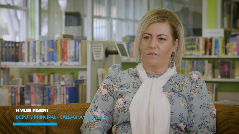 Kylie Fabri - Deputy Principal of Callaghan College