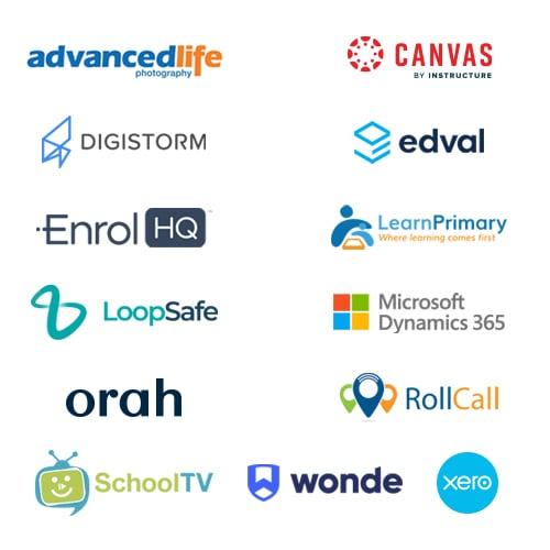 Sentral integrated Platform logos
