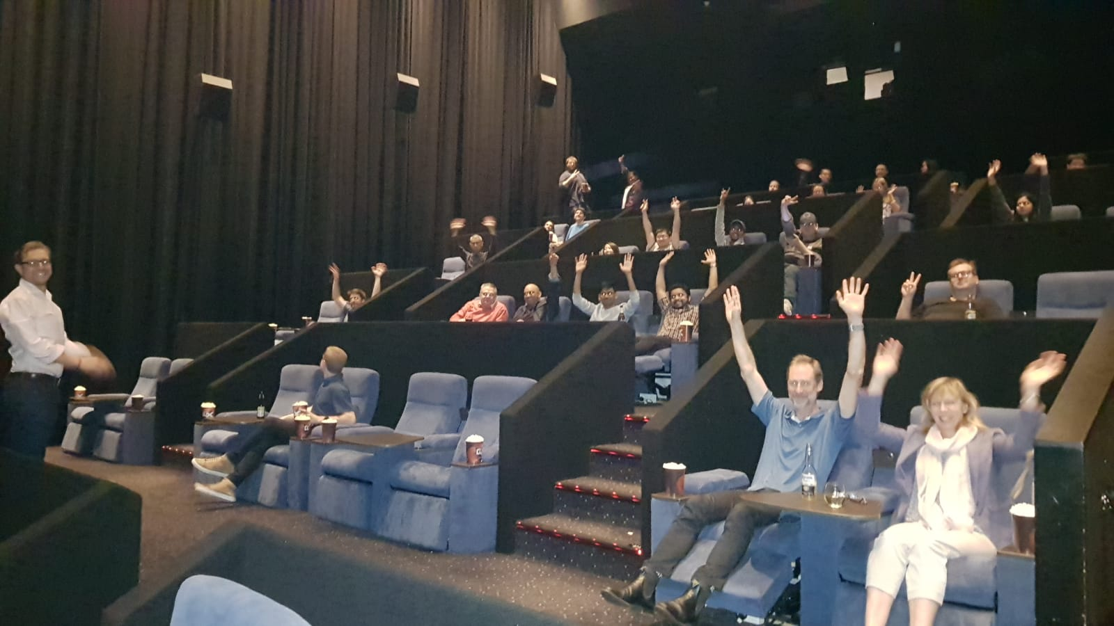 Not all heroes wear capes! Sentral takes their development heroes for a night at the movies with Avengers: EndGame